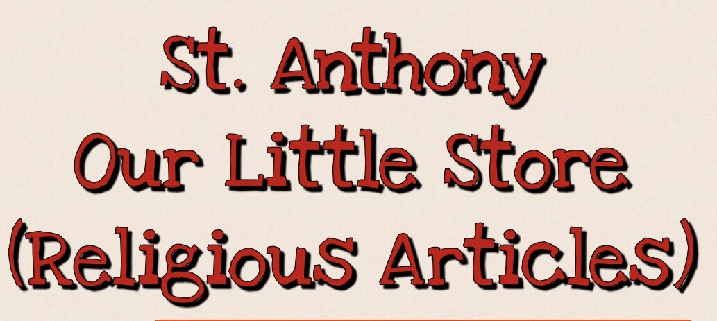 St. Anthony Religious Articles
